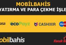 Mobilbahis Para Yatırma ve Çekme